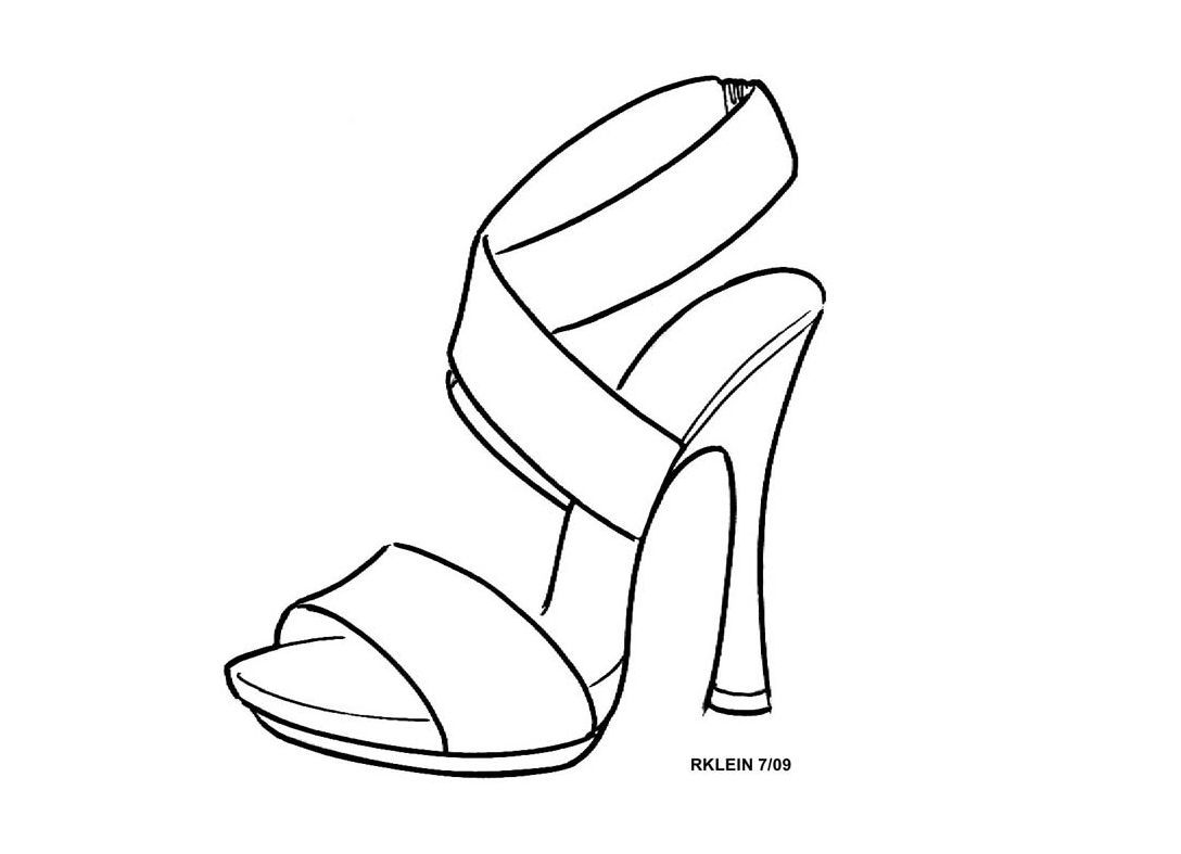 Pin By Sarah Dhooma On Cads Illustration Shoes