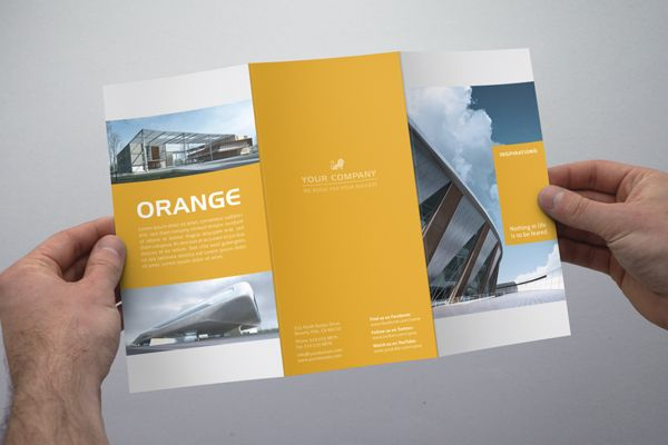 Modern Tri Fold Flyer By The Mikinger, Via Behance | Design