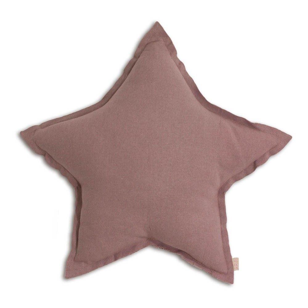 Kissen Stern Altrosa Dusty Pink S007 Kissen Sternenkissen Babyzimmer