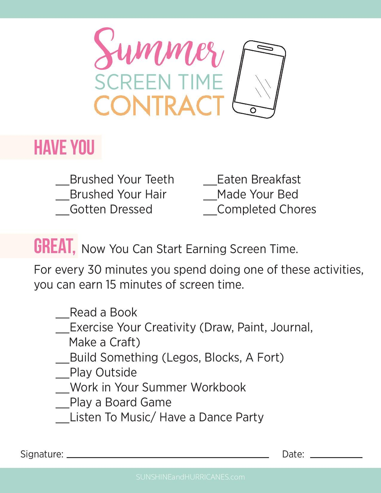 No More Tech Zombies Kids Schedule Chores For Kids Kids