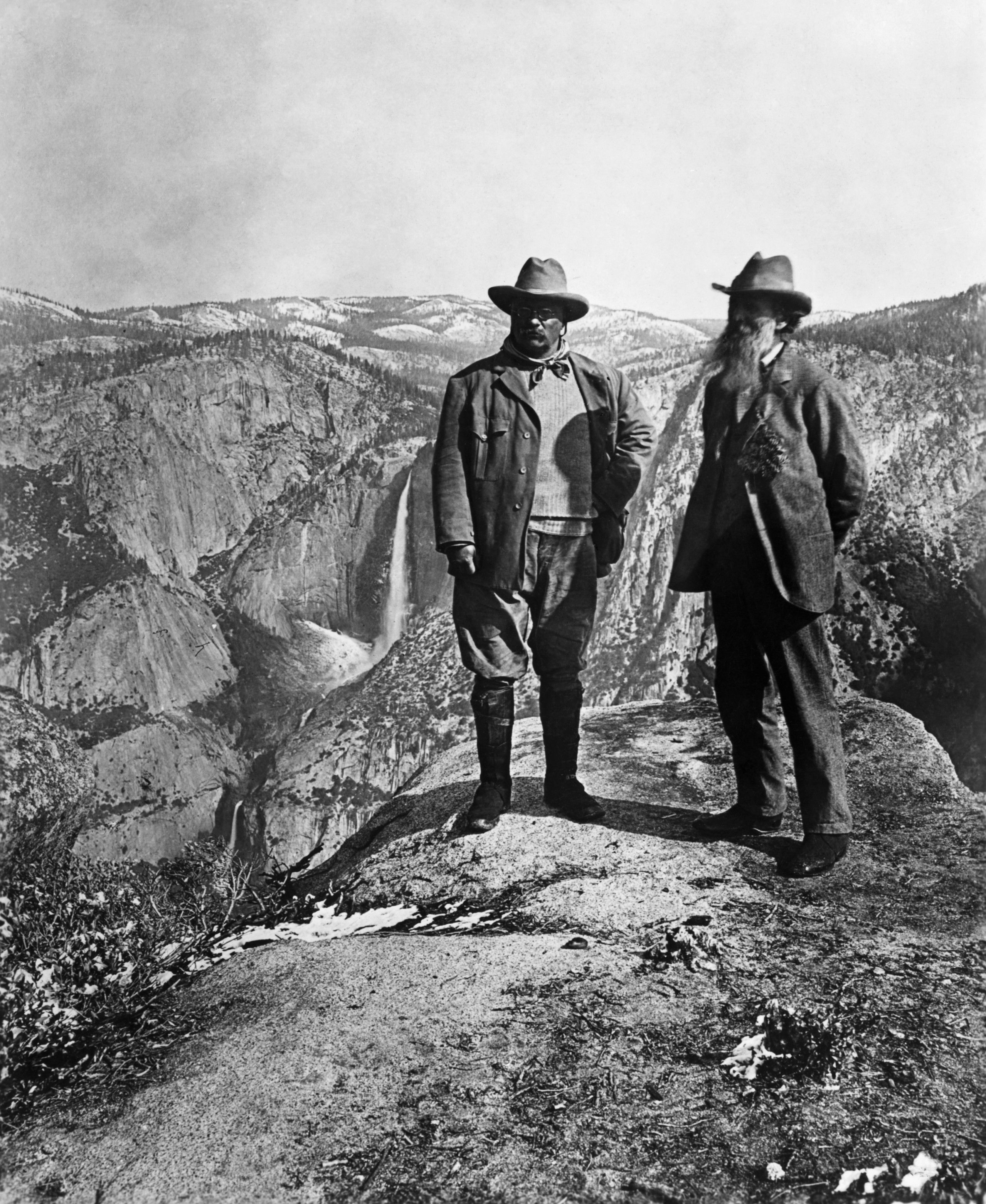 Yosemite National Park President Roosevelt Teddy