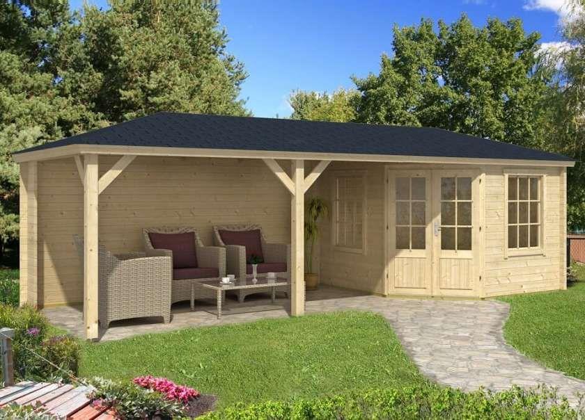 Gartenhäuser mit Terrasse Gartenhaus, Gartenhaus mit