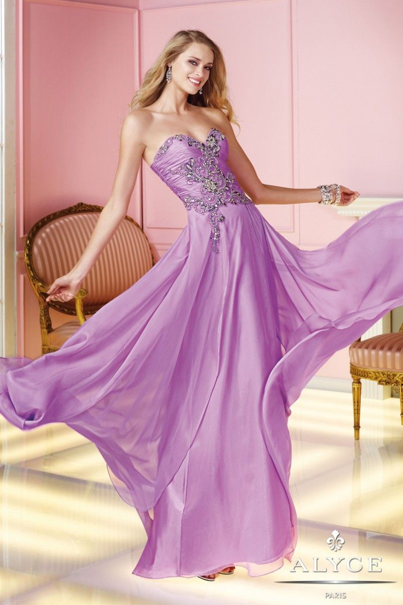 Alyce Prom Dress Style #6231 Full View | ALYCE PARIS | Pinterest