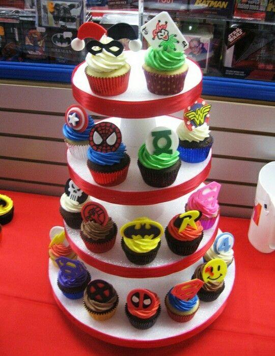 My Kind Of Cupcakes 1st Birthday Cakes Pinterest Birthdays