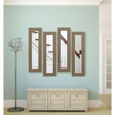 """Darby Home Co Panel Mirror Size: 29"""" H x 11"""" W x 0.75"""" D ..."""