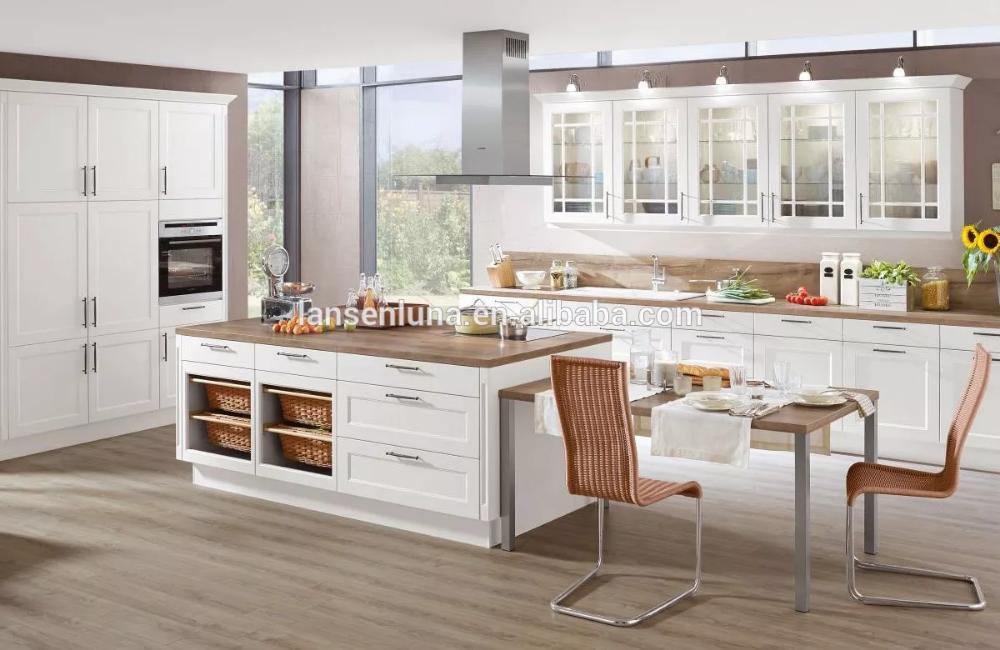 2020 Lansenluna Mdf Australia Customized Classical White Shaker Door Style Design Wood Kitchen Cabinet View Kitchen Cabinet Lansenluna Product Details From Ha In 2020