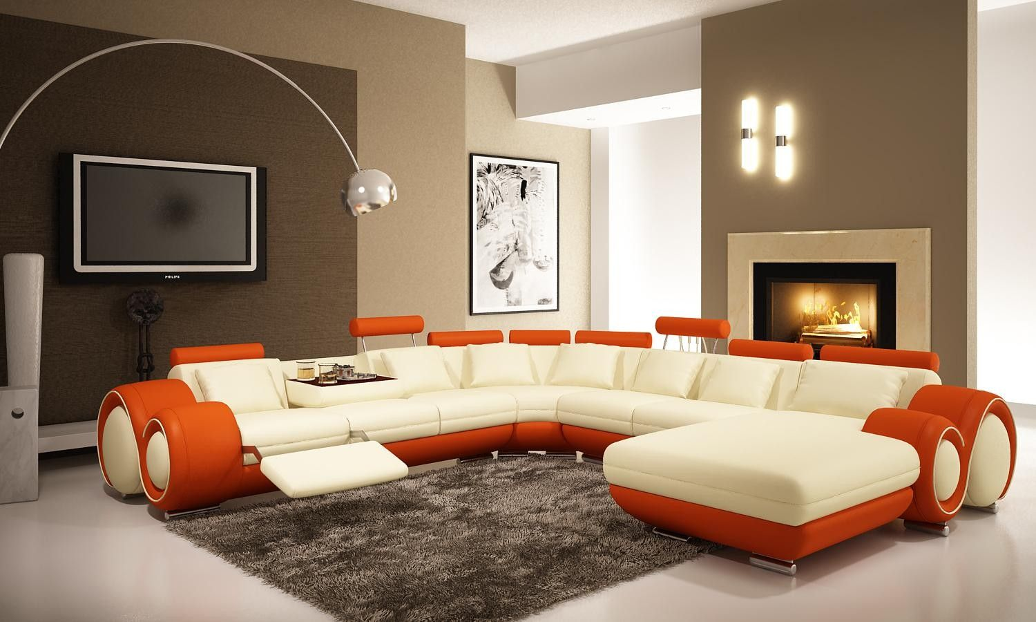 Modern living rooms and technology for it | Contemporary living ...
