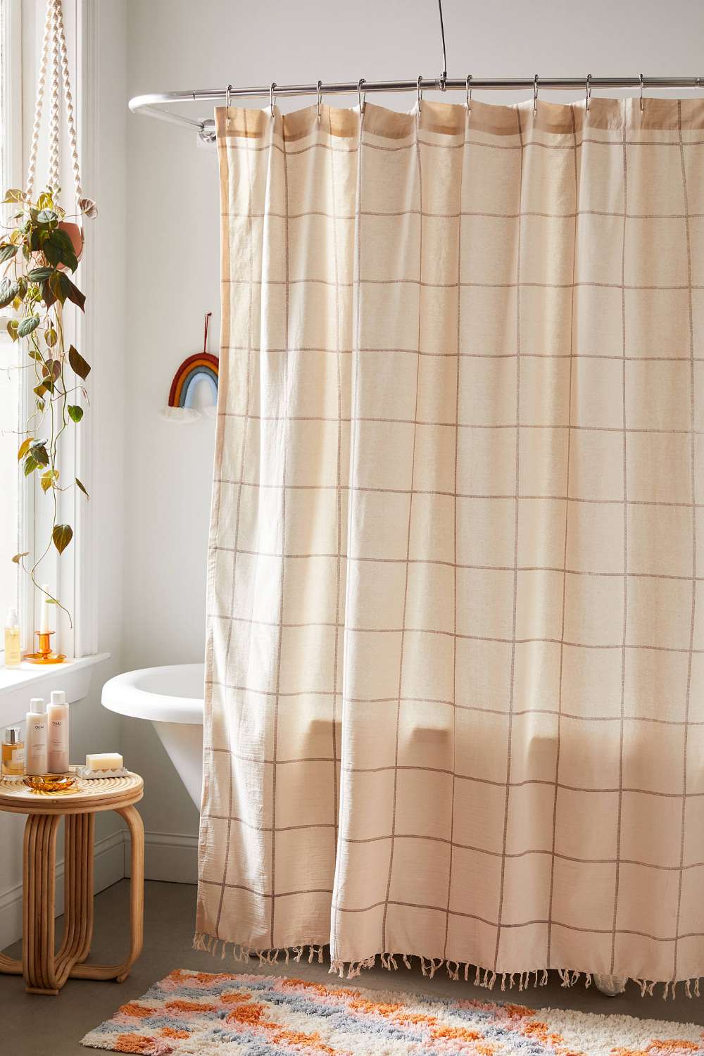 Grid Shower Curtain Urban Outfitters Canada In 2020 Grid