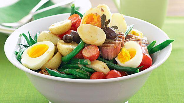 Salad nicoise recipe 9kitchen salads pinterest nicoise salad nicoise recipe 9kitchen forumfinder Images