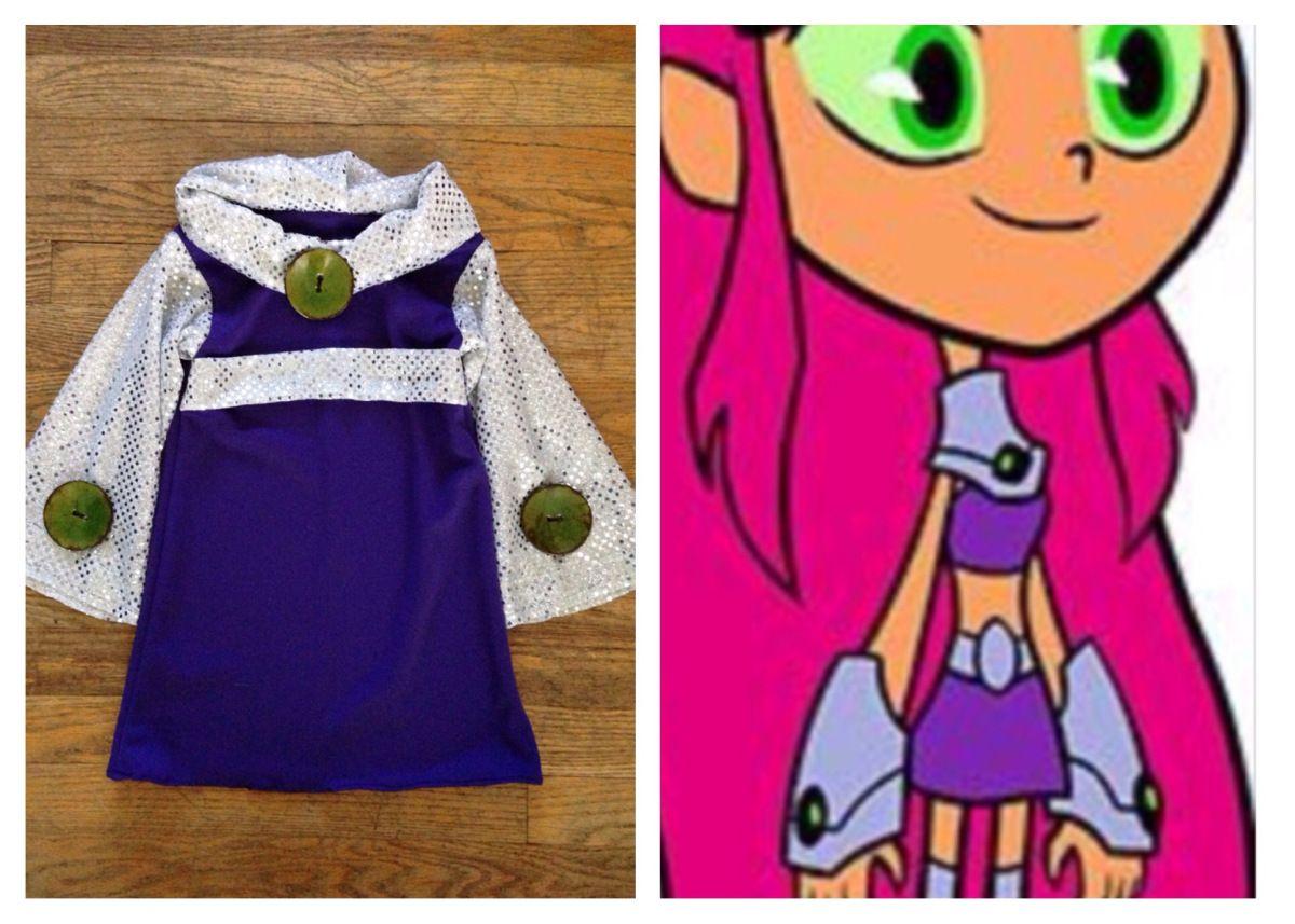 Teen Titans Go Starfire Costume-7083