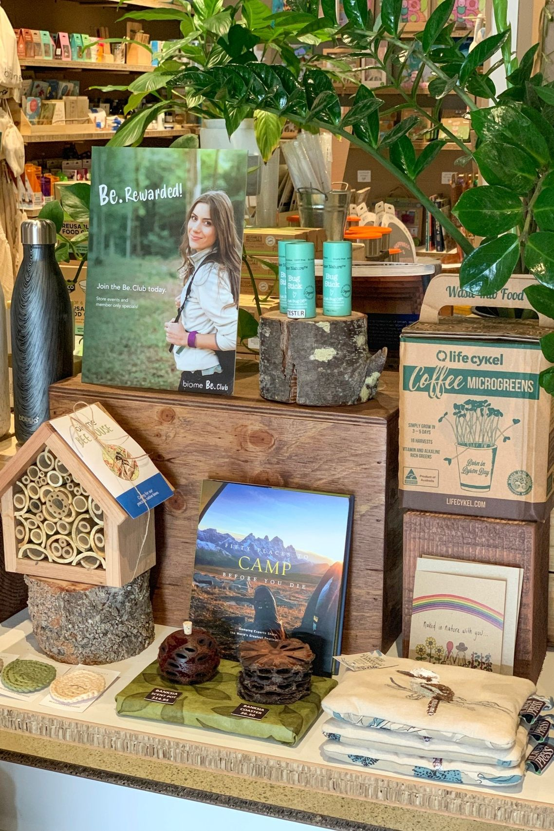 In store at Biome Eco Stores. Whether it's a unique gift
