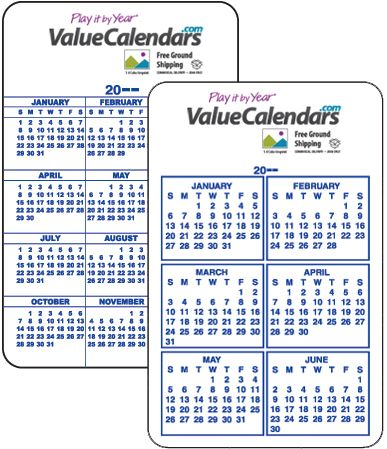 This Credit Card Size Wallet Calendar Is Great Because It Goes Everywhere You Go Printed In Full Color On A Laminated Paper Stock Comes Standard