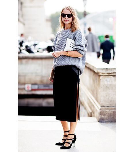 Investing In Street Appeal With Style: 7 Inspiring Ways To Reinvent A Grey Sweater