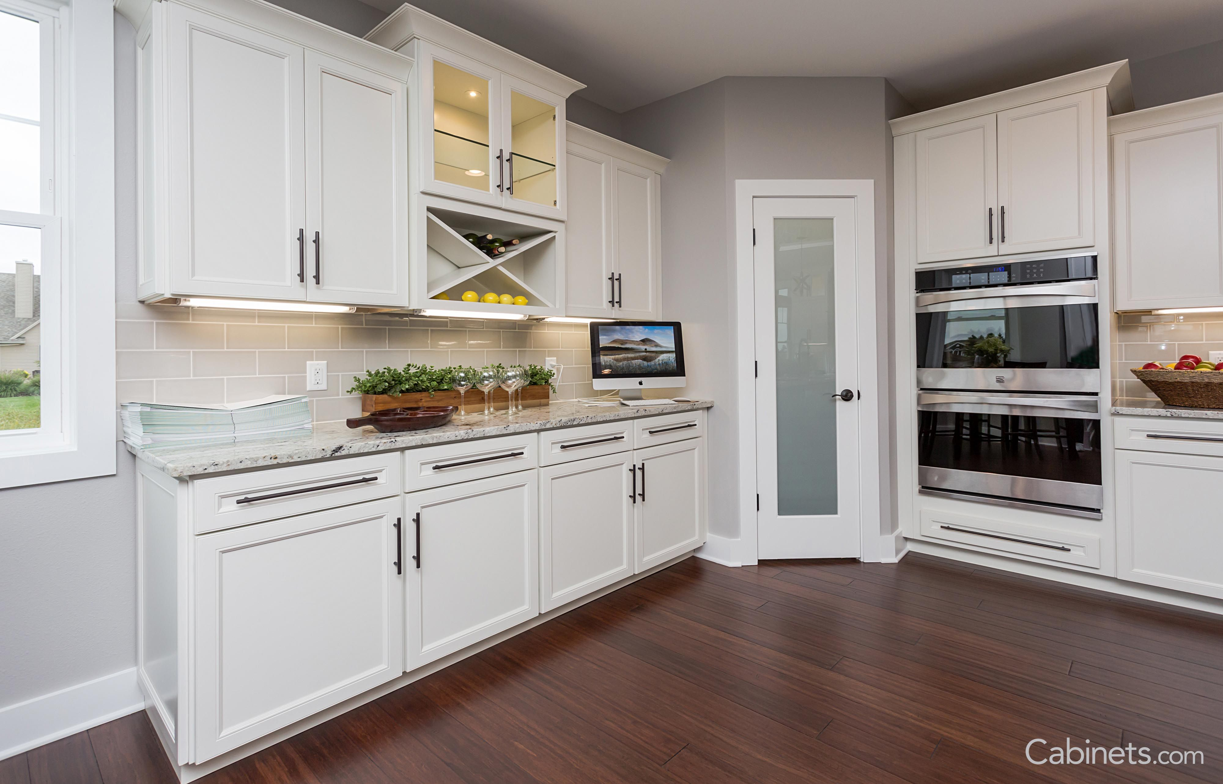 Online Kitchen Cabinet Companies Great home bar area that could also be used as home office space