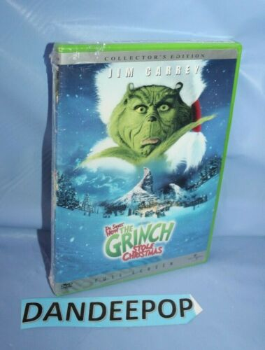 When Does How The Grinch Stole Christmas Come Out 2020 To Dvd How the Grinch Stole Christmas (DVD, 2001, Full Frame) Collector's
