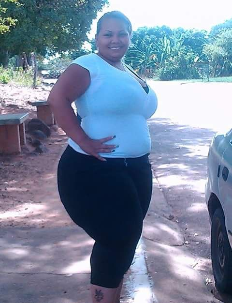 Black bbw walking