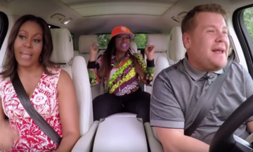 Michelle Obama Signs Seals Delivers Carpool Karaoke With Missy