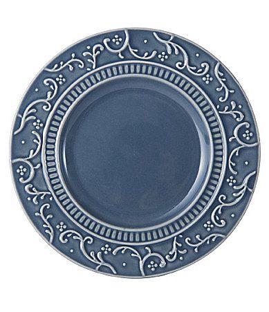 Mikasa Italian Countryside Accents Scroll Stoneware Appetizer Plate #Dillards
