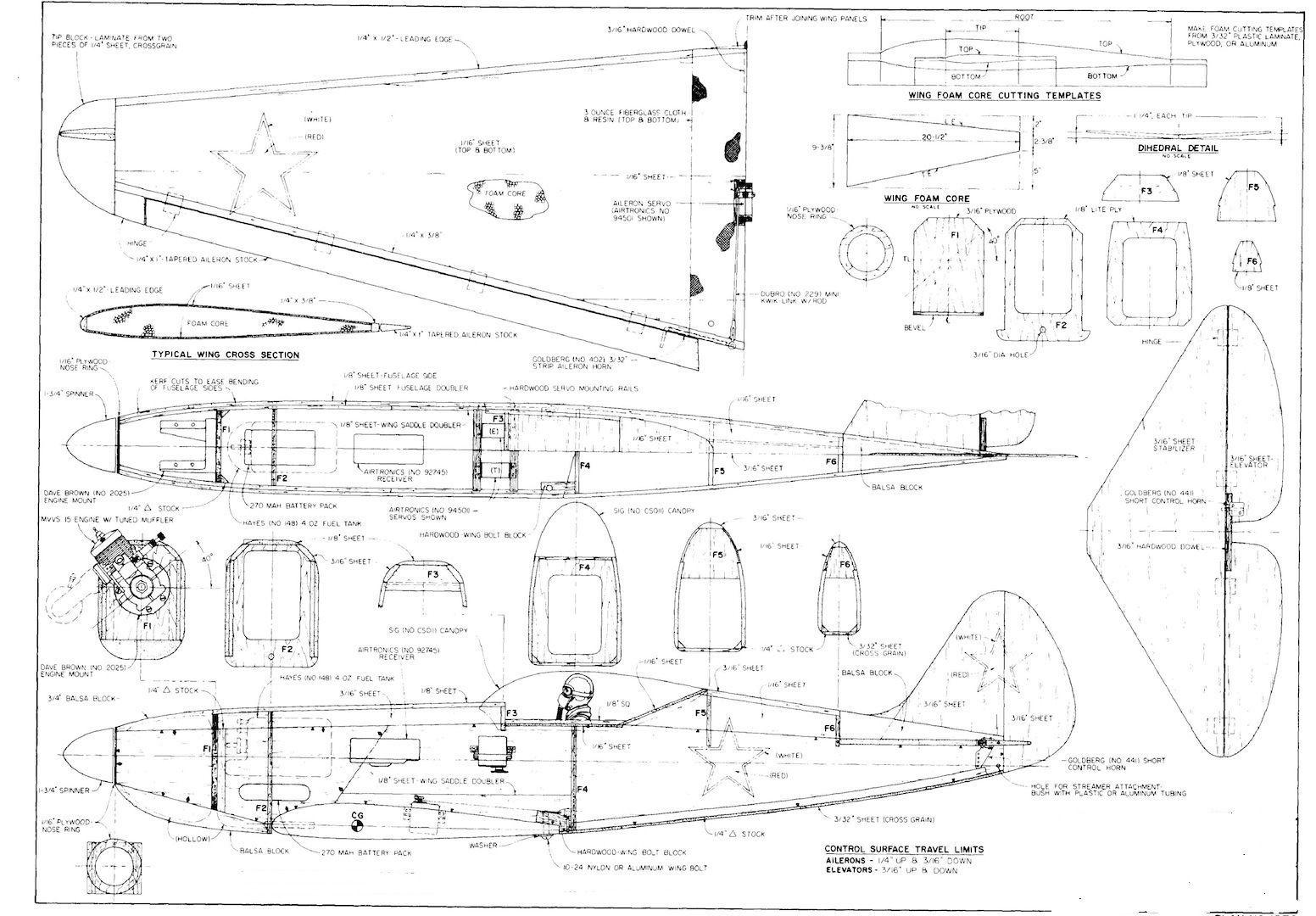Free Rc Plane Plans Pdf