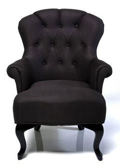 Butaca caf black tienda on line de muebles vintage for Tiendas de muebles para restaurantes