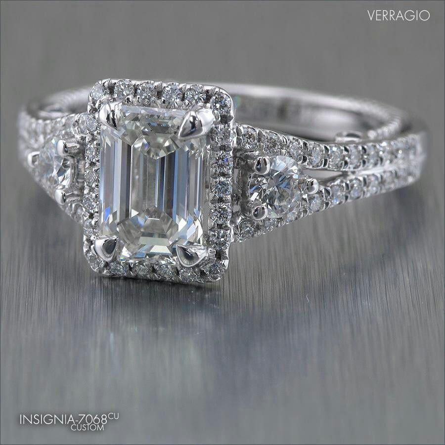 Love emerald cut diamonds