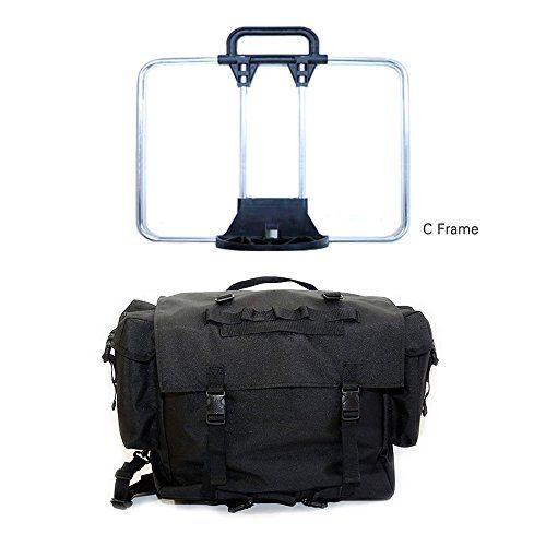 Rucksack Bag and Frame Set for Brompton (Black + C Frame ...