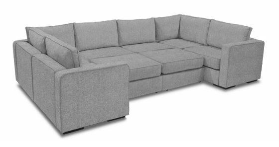 8 Seats 10 Sides Furniture Modular Sectional Sofa