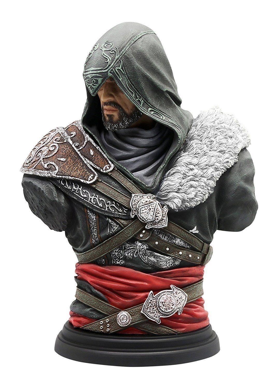 Ubisoft Assassins Creed Revelations Ezio Bust Figurine