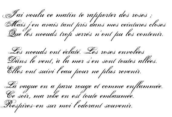 french love poems poem french mon appartement est paris teaching cursive cursive. Black Bedroom Furniture Sets. Home Design Ideas
