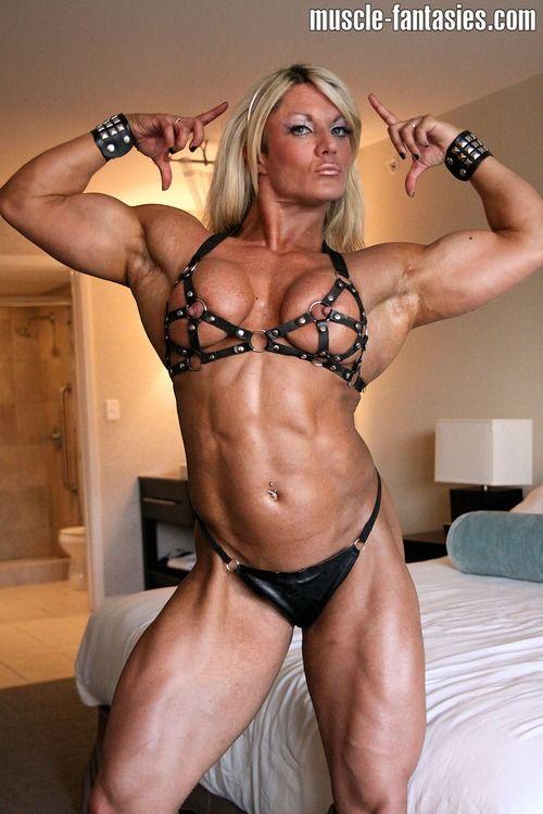 Lisa cross arousing muscle girls bodybuilding sexy body - Lisa cross fbb ...