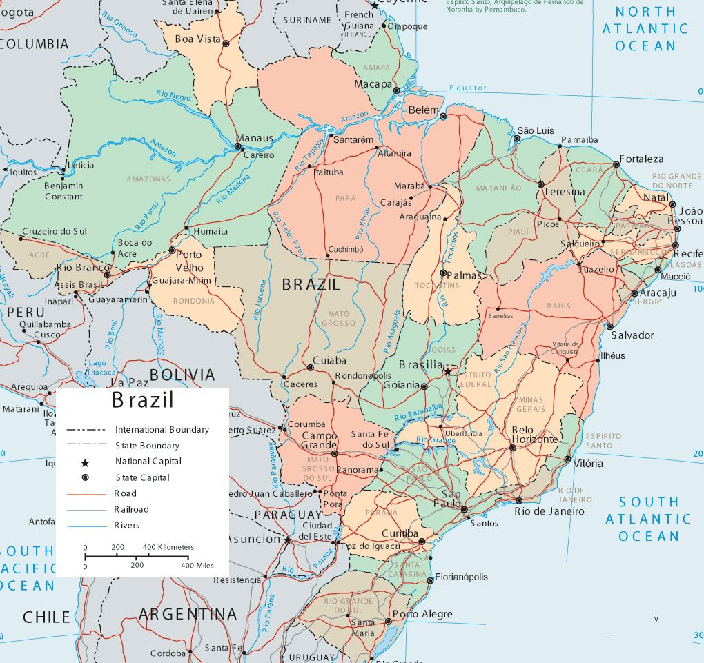 Brazil map google brazil pinterest brazil brazil map google gumiabroncs Image collections