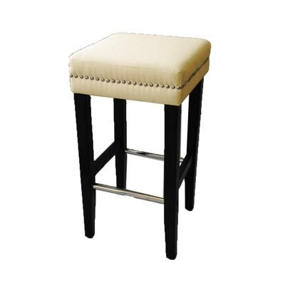 Jr Home Collection Biscuit Beige 30 Inch Bar Stool 2 Pack If