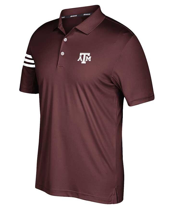 28feb6985b7a1 Texas A&M Aggies Adidas Men's 2017 Spring Game 3-Stripe Plus Size ...