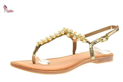 Gioseppo Piera 40705 Chaussures Or 46 Flops 41 Taille Flip Femmes S7BrYnxS