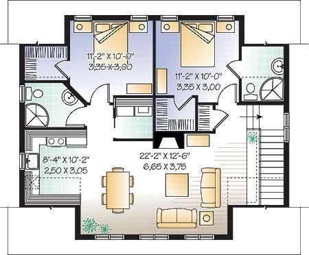 Plano casa colonial dos pisos buscar con google planos for Casas coloniales interiores