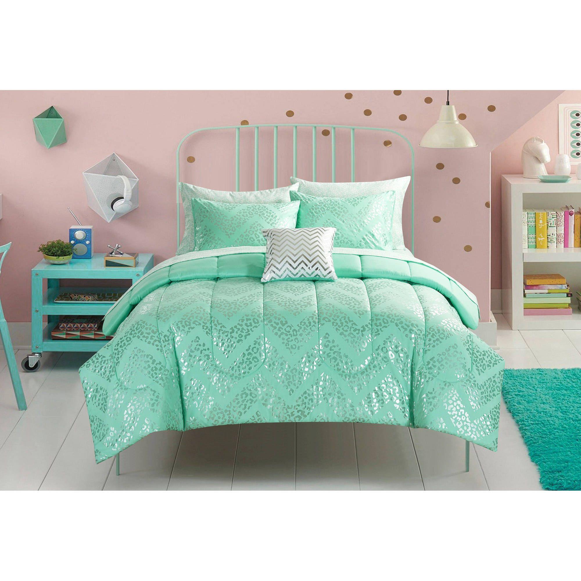 Mint Bedding Set