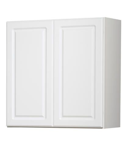 """White Kitchen Cabinets At Menards: Value Choice 30"""" Ontario White Standard Height Wall"""