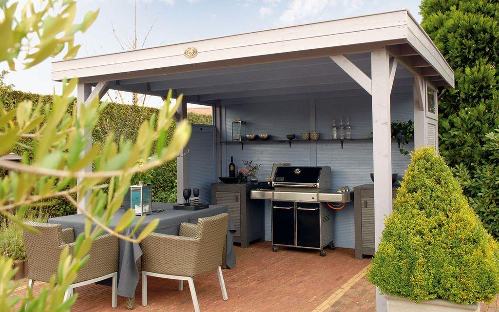 Sommerküche Bauanleitung : Hillhout : buitenkeuken tuin pinterest