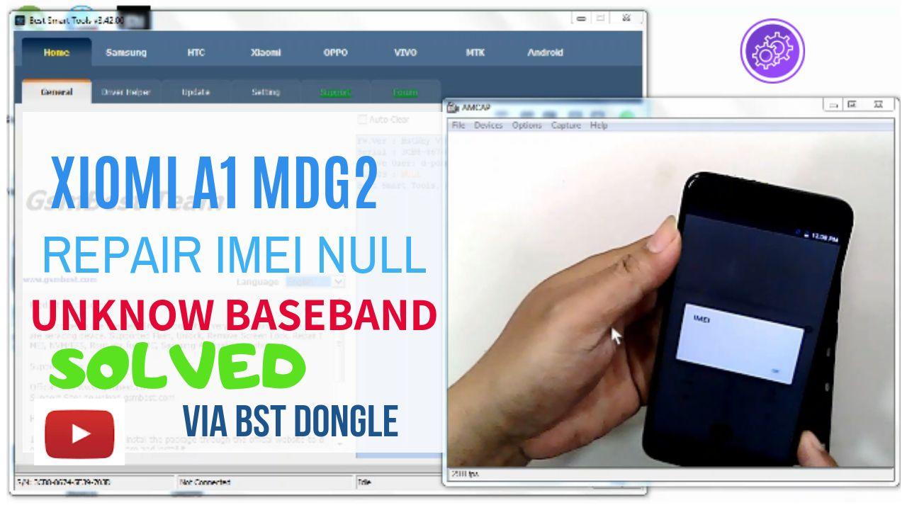 Repair Imei xiomi A1 MDG2 Via Bst dongle   Repair Imei   Electronics