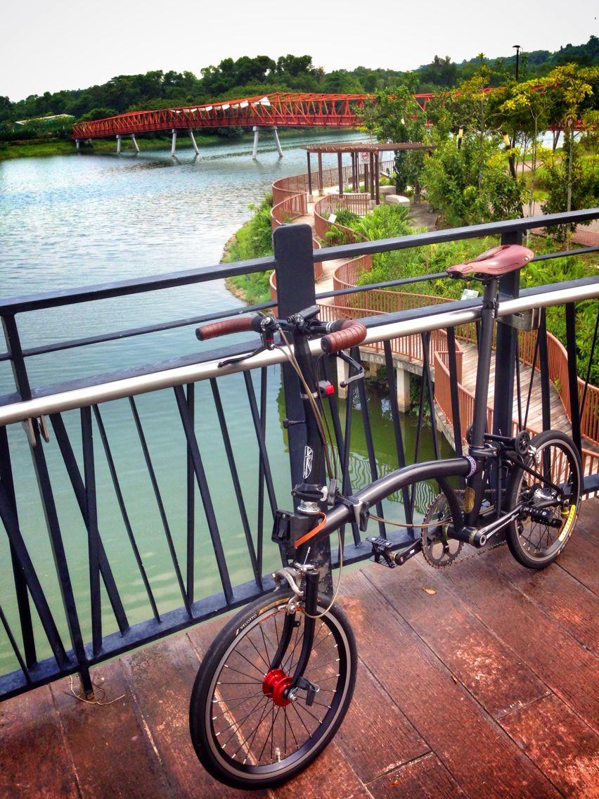 Brompton Singapore Urban Bicycle Brompton City Bike