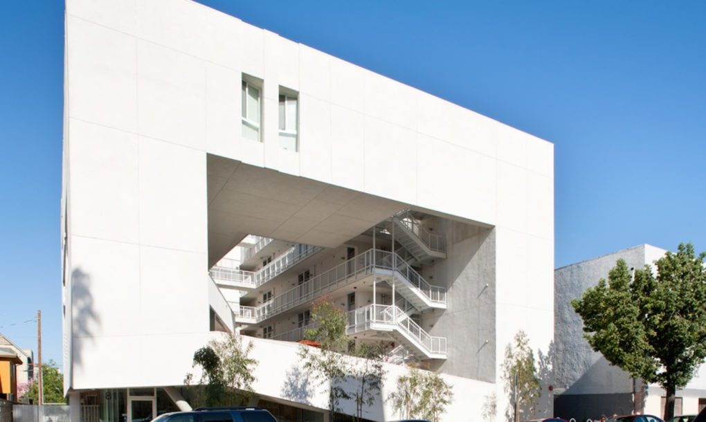Affordable Housing For Disabled Veterans Marries Wellness And Sustainability In Los Angeles Affordable Housing Green Building Veteran Housing