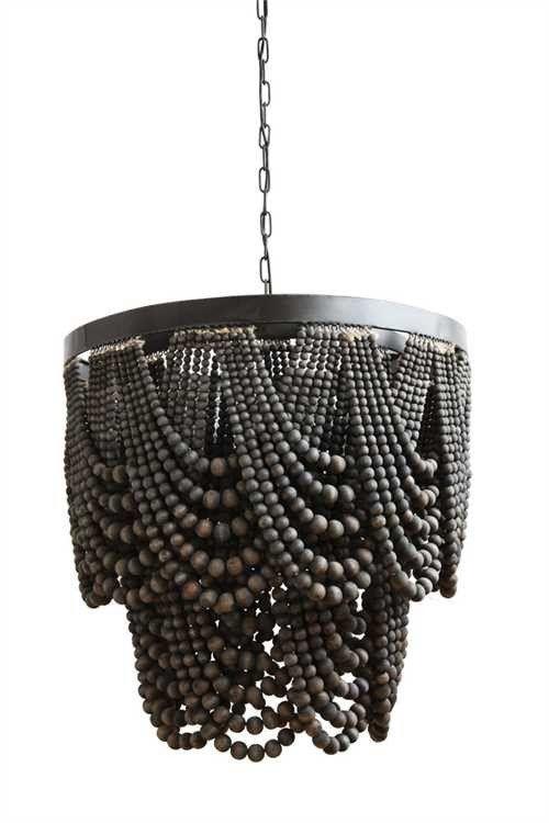 Jet black chandelier light it up pinterest black chandelier jet black chandelier aloadofball Choice Image