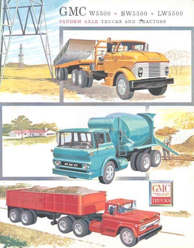 1960 gmc/chevy LW5500 series truck   GM Trucks 1960-\'61-\'62-\'63 ...