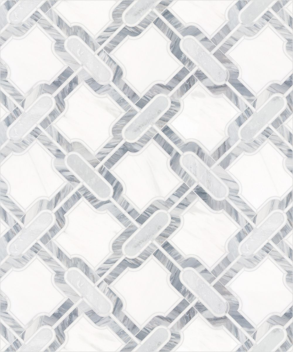 Msi Calacatta Cressa Herringbone 12 In X 12 In X 10 Mm Honed Marble Mesh Mounted Mosaic Tile 9 4 Sq Ft Case Calcre Hbh The Home Depot Mosaic Flooring Marble Mosaic Tiles Mosaic Tiles