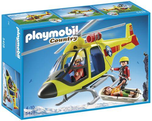 Foto: Playmobil 5428 Reddingshelikopter in de bergen