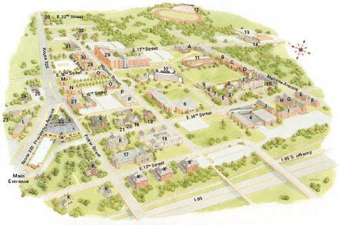 Interactive Campus Map Ua.Campus Maps Google Search Campus Maps Pinterest Campus Map