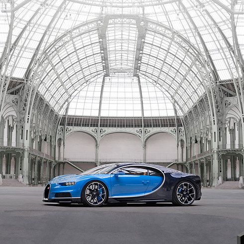 It has a big engine with over 1500 horsepower! | The New Bugatti Chiron Is Probably The Nicest Car You've Ever Seen