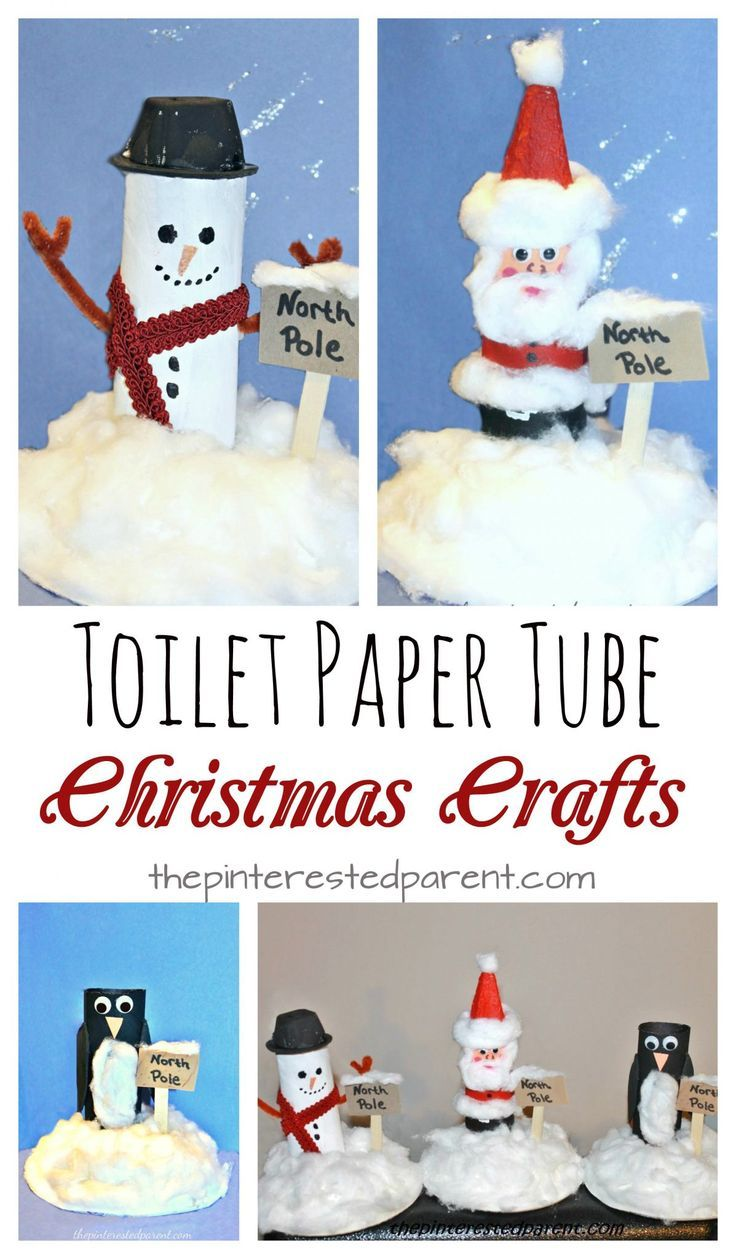 Toilet paper tube north pole scenes cardboard rolls north pole toilet paper tube snowman santa penguin at the north pole recyclable cardboard roll jeuxipadfo Image collections