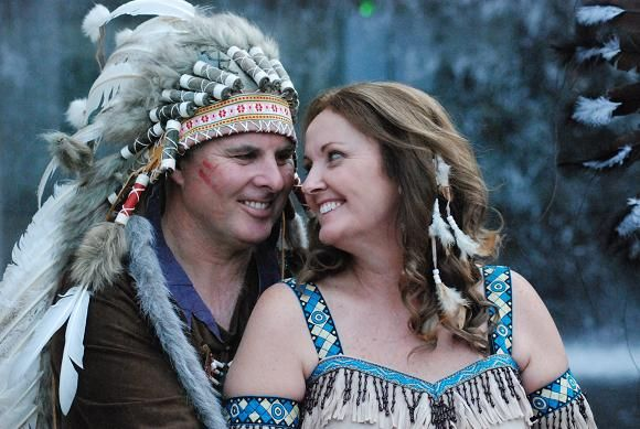 Image Detail For A Traditional American Indian Wedding Ceremony The Bride Would