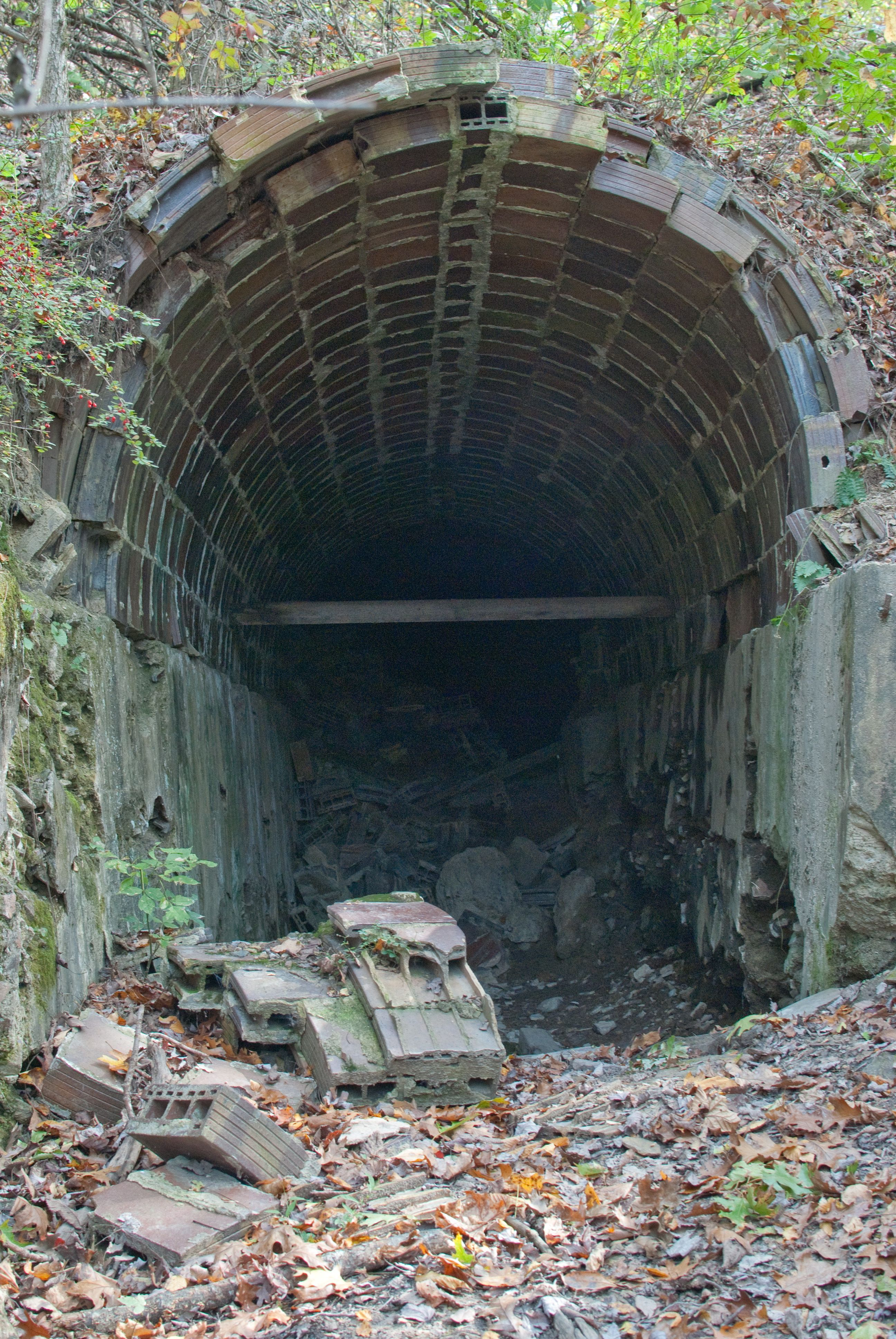 Abandoned Haydenville Tunnel. Circa Late 1800's